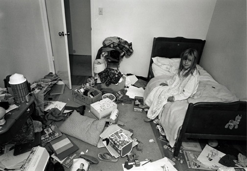 Bill Owens, Christina's Room, 1971