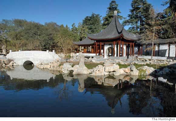 Huntington Library's Chinese garden, Liu Fang Yuan