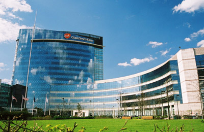 Glaxo SmithKline's offices in West London