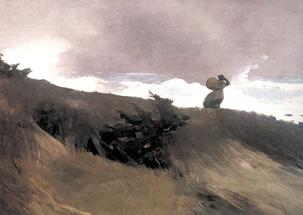 The West Wind, by Winslow Homer
