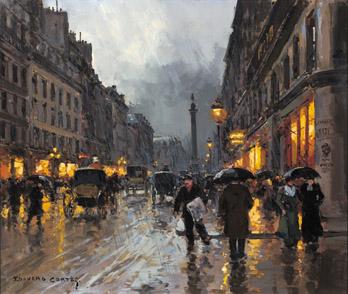 Eduard Cortez, Parisian Boulevard