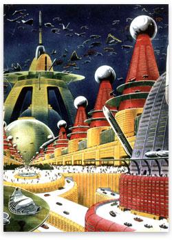 Retro Future City