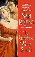 The Governess Wears Scarlet by Sari Robins