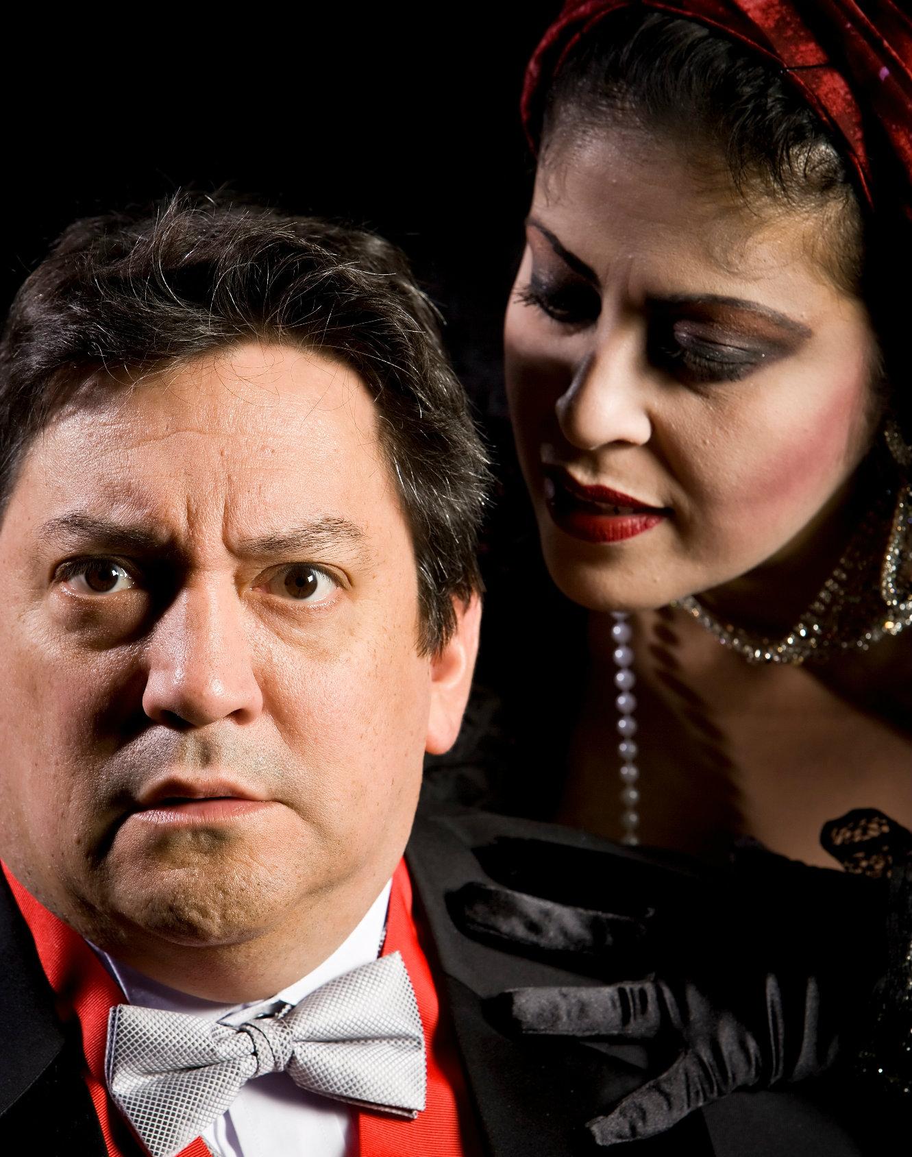 Rene Moreno and Christie Vela