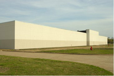 David Byrne's photo of a data archive building north of Dallas