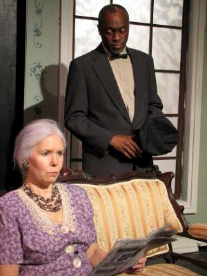 Elly Lindsay and Wilbur Penn star in Driving Miss Daisy.