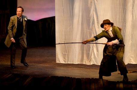 Kenneth Boys and Becca Ayers star in Sarah Plain and Tall. (Photo: Brandon Thibodeaux)