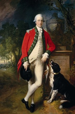 """Colonel John Bullock,"" early 1770s, Thomas Gainsborough. Private collection, Tomball, Texas"