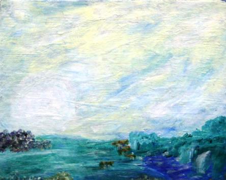 The Seashore, by Velietta Dickens Rogers