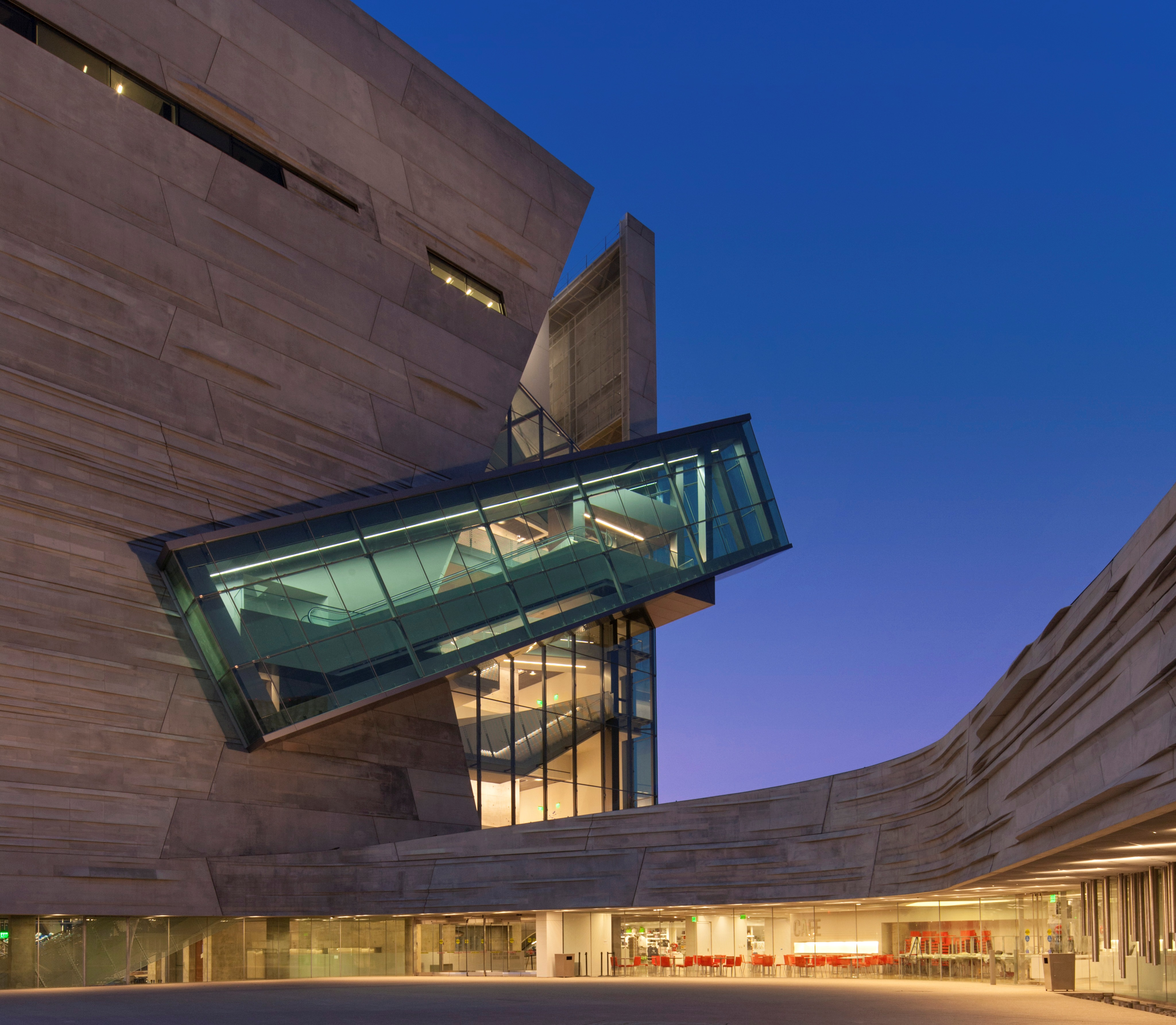 Denver Museum Of Science And Nature Inside: The Perot Museum's Stairway To Heaven