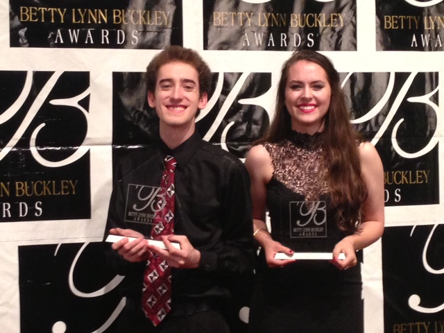 Ben Allen and Sarah Roach were awarded Best Male And Best Female Actor awards and as a result are New York City bound. Photos: Courtney Collins