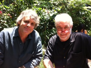 Epic director Chris Wedge (left) and screenwriter Jim Hart. Photo: Stephen Becker