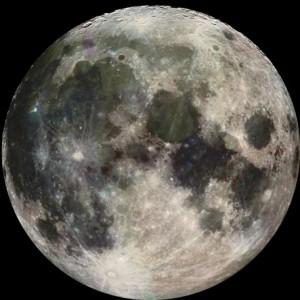 La bella luna! Photo: NASA