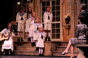 Check out THE SOUND OF  MUSIC this weekend with your brood. (photo Lyric Stage)
