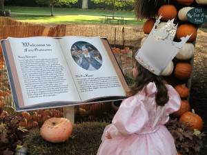 The Dallas Arboretum is the perfect place to snap a photo of your little witch. (photo Therese Powell)