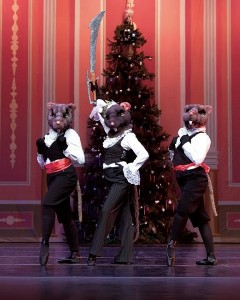 Where else but 'The Nutcracker' can you see rodents with swords? (Photo: Momentum Dance Company, Irving