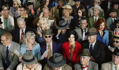 Alex Prager (b. 1979) Crowd #1 (Stan Douglas), 2010 Dye coupler print © Alex Prager, courtesy of the artist and Yancey Richardson Gallery