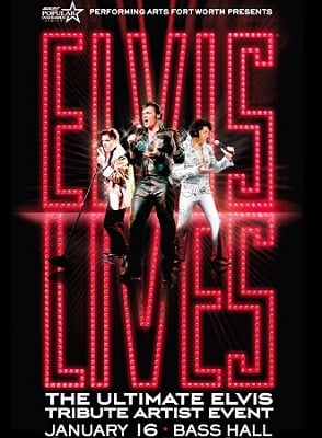 Elvis poster big 400