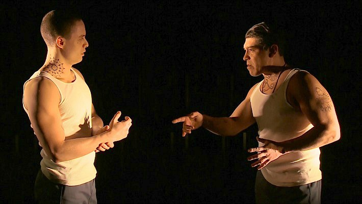 a review of the play oedipus Sophocles' greek tragic tale of oedipus, a man who dared believe he could steer  his own fate against the curses of the gods, has seeped into.
