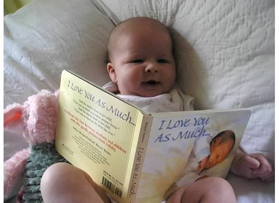 Create a life long lover of books at your local public library.  (photo: Therese Powell)