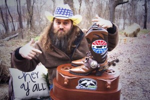 Willie Robertson of 'Duck Dynasty' celebrated a new partnership with Texas Motor Speedway. (Twitter)
