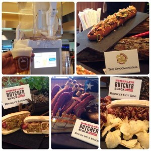 Some of the new gut-buster foods that will be served this spring at Globe Life Park in Arlington. (Photo credit: Texas Rangers/Twitter)