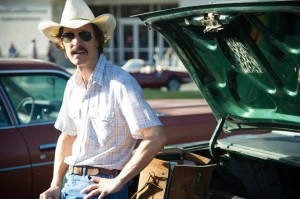 """Matthew McConaughey earned an Oscar nomination for actor in a leading role for his portrayal of Ron Woodroof in """"Dallas Buyers Club."""" (Credit: Anne Marie Fox / Focus Features)"""