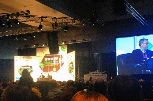 Google Executive Chairman Eric Schmidt at SXSW, March 7, 2014. (Greg Swan via Flickr)