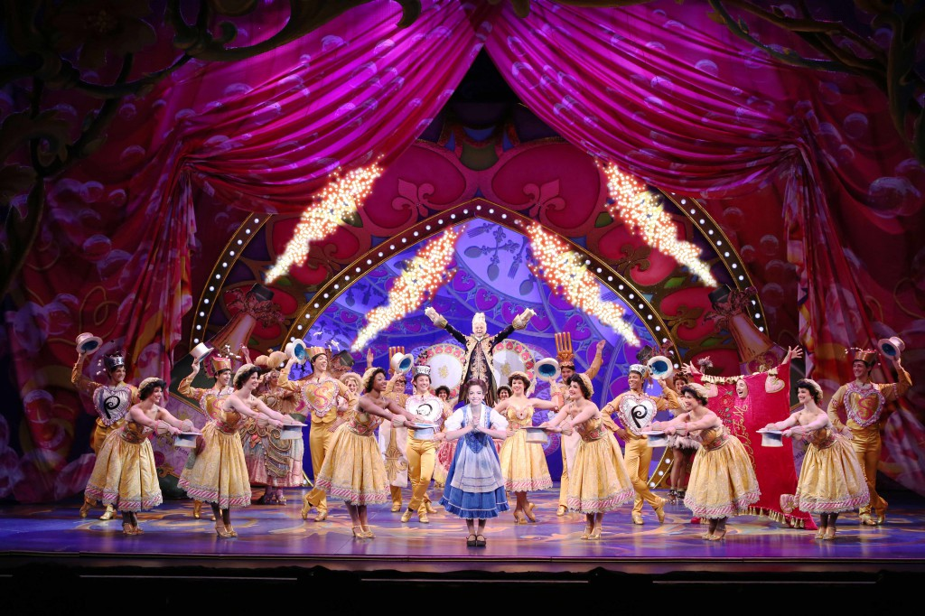 """Be Our Guest"" Photo by Amy Boyle, courtesy of AT&T Performing Arts Center"