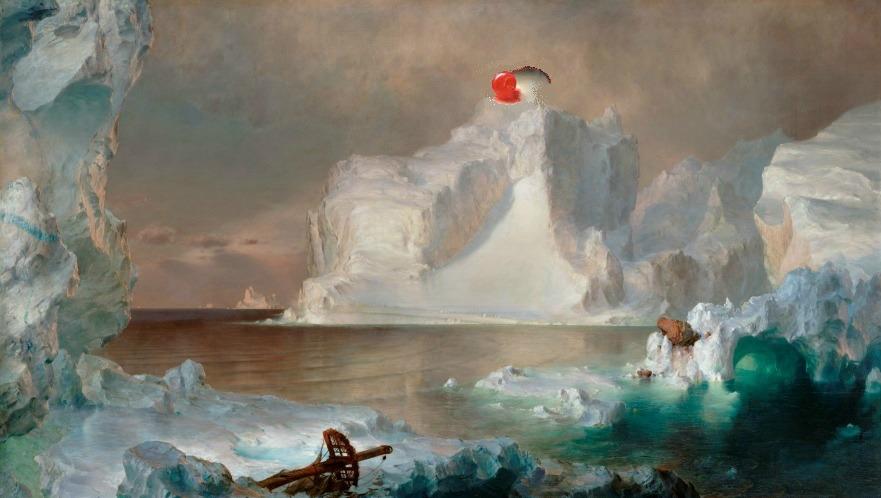 iceberg sundae