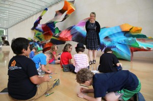 You can Splat! Squish! Swirl! this summer at the Nasher Sculpture Center. (photo: Nasher Sculpture Center)