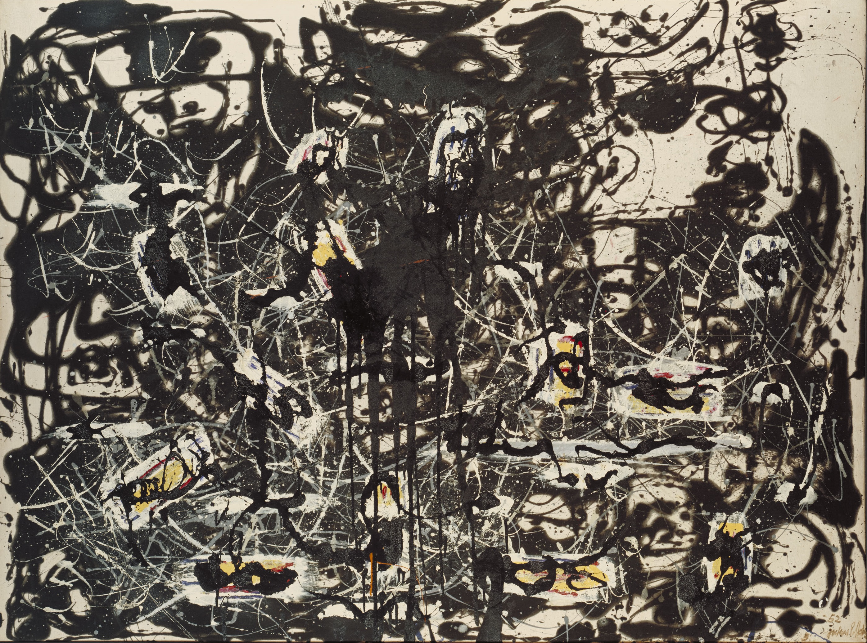 Portrait and a Dream 1953 by Jackson Pollock