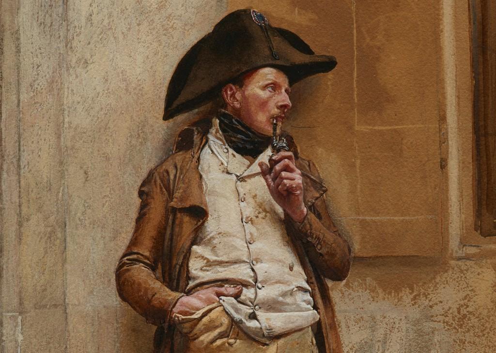 Jean-Louis-Ernest Meissonier_Le Fumeuredit