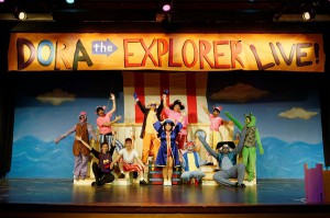Check out Dora's new adventure at the Rose Marine Theater (Photo: Michael C. Foster/ Artes de la Rosa)