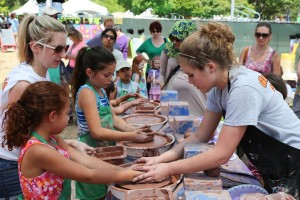 Throw some mud at the Cottonwood Art Festival. Photo: Cottonwood Art Festival