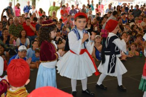 "Everyone say ""Opa!"" Photo: Greek Food Festival of Dallas"