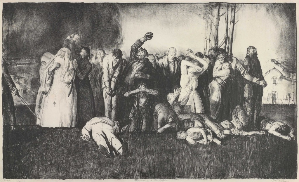 Village Massacre, George Bellows
