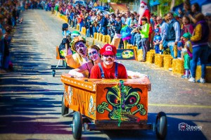 It's coffin race time at Denton's Day of the Dead Festival.  Photo: Ed Steele photography