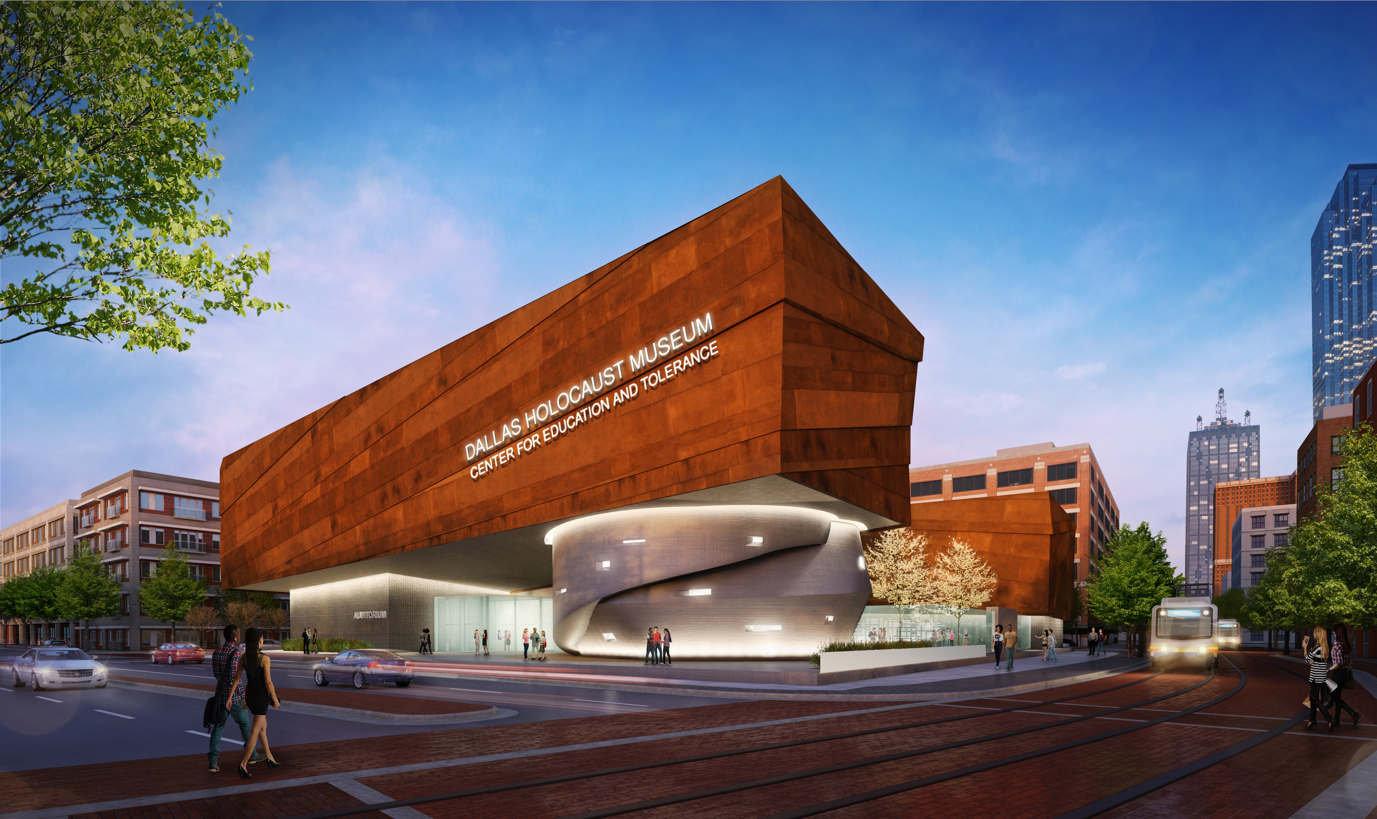 Museum Of Arts And Design Hours : New home for dallas holocaust museum the art