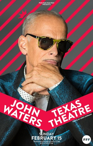 John Waters at Texas Theater