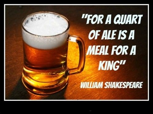 William-Shakespeare-loves-his-beer-500x374