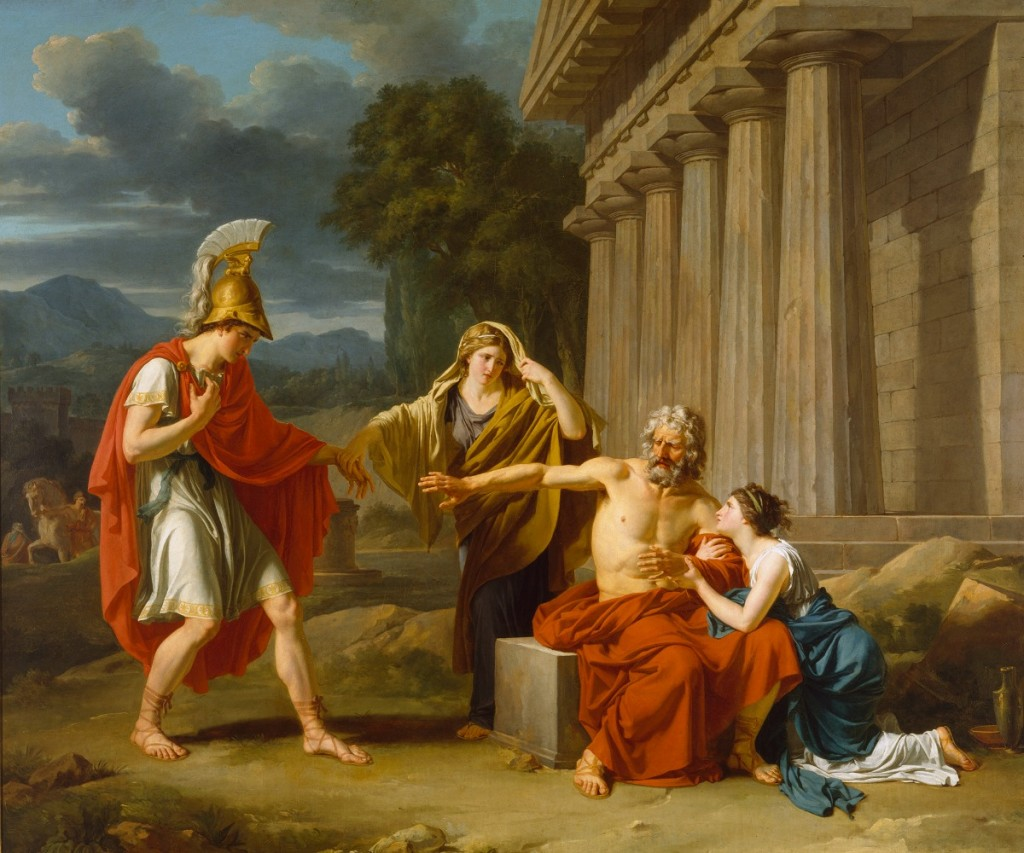 an analysis of the downfall of the characters of creon from the play antigone by sophocles and oedip Antigone: character profiles character profiles, theme analysis he advises creon, as he had advised oedipus earlier.