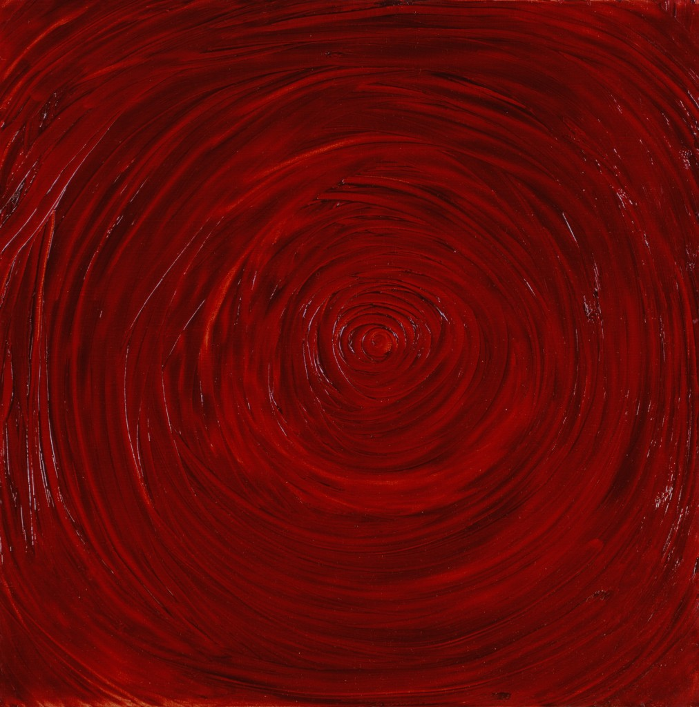 Kazuo Shiraga, Work, c. 1954, Oil on canvas, Museum of Contemporary Art Tokyo © 2015 Shiraga Hisao