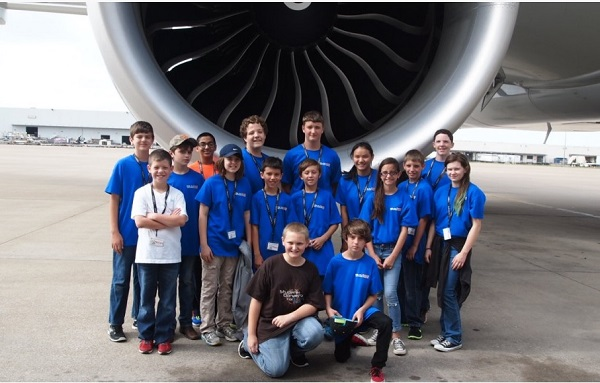 Explore the science of flight at an Eagle Aviation Camp. Photo: American Airlines C.R. Smith Museum