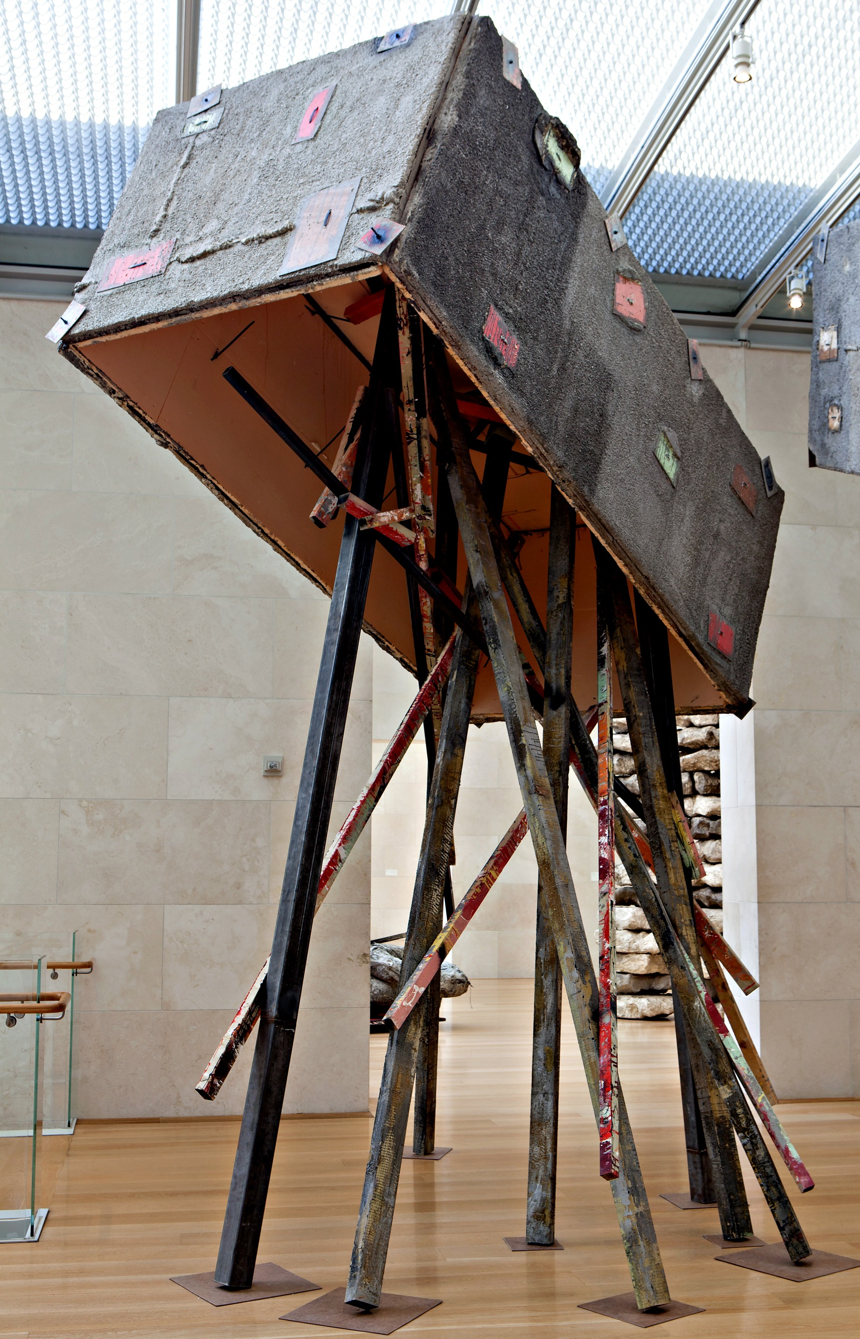 Universities In Dallas Texas >> Trysting with Phyllida Barlow at the Nasher | Art&Seek | Arts, Music, Culture for North Texas