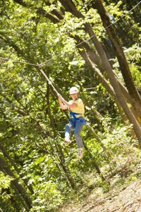 Grab some aerial thrills at the Heard. Photo: Heard Museum and Wildlife Sanctuary