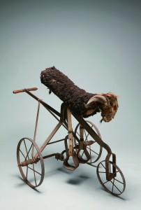 ìThe Royal Bumperî mechanical goat, ca. 1910 DeMoulin Bros. & Co. Mixed media, 44 × 54 × 37 in. Webb Collection