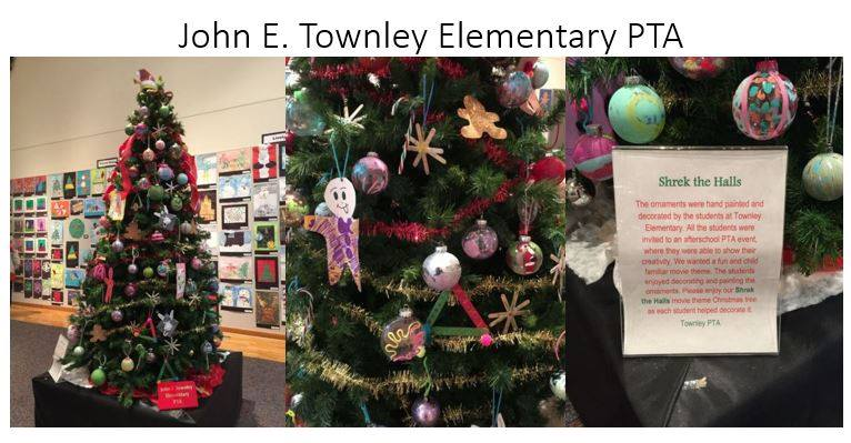 "John E. Townley Elementary's submission inspired by ""Shrek the Halls."""