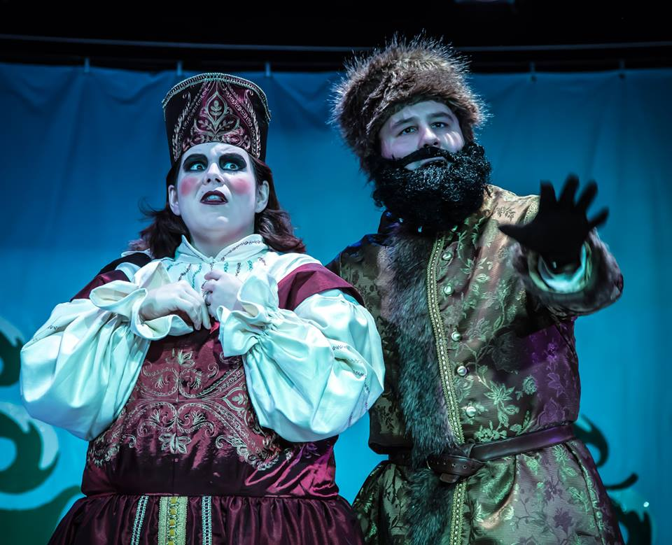 Can Christmas be saved? Find out in 'The Daughter of St. Nicholas.' Photo: OnStage in Bedford