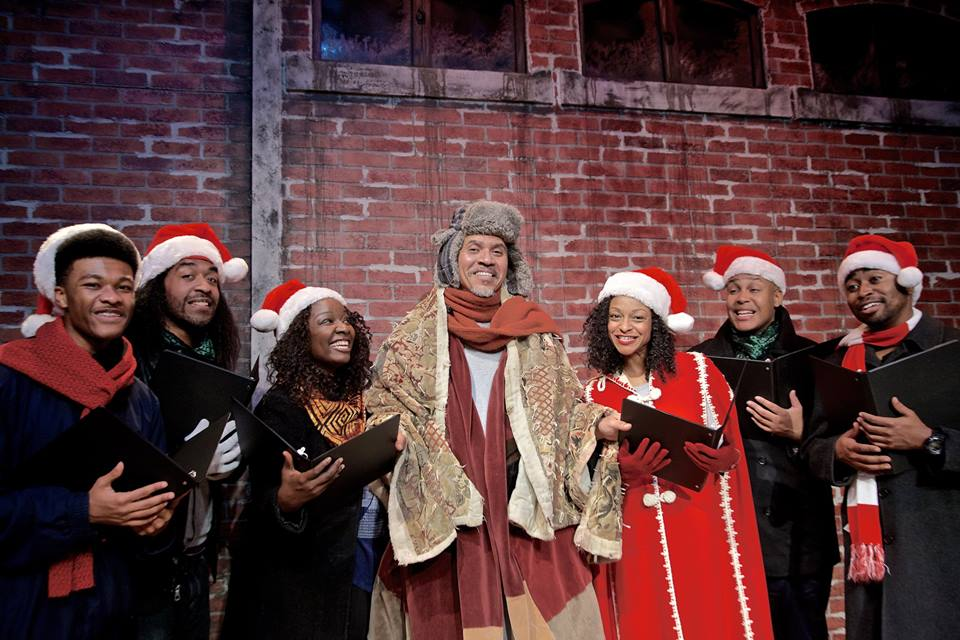 You'll be full of the holiday spirit at 'Do You Hear What I Hear? A Jubliee Christmas' Photo: Jubilee Theatre